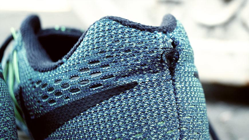 Nike hælkappe slidt
