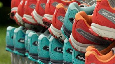 Flere salomon sko
