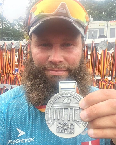 Ulrik Pihl - Berlin Marathon 2017