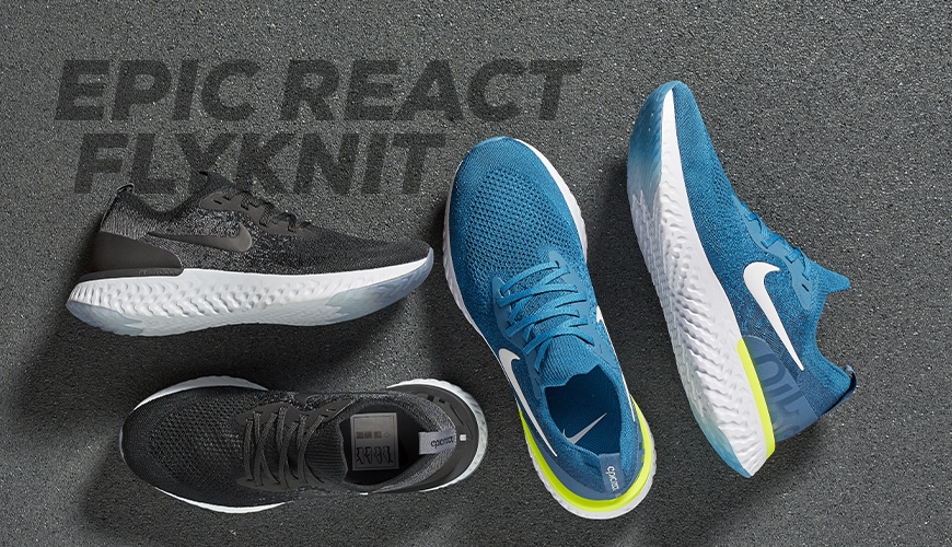 uk availability c45d4 6a342 Nike Epic React Flyknit