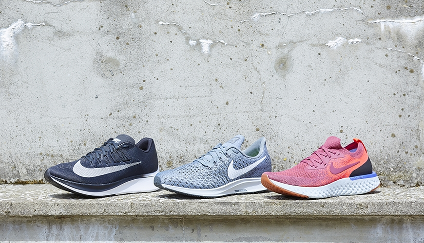 new style 17241 acfce Nike Zoom Fly vs. Nike Pegasus 35 vs. Nike Epic React Flyknit