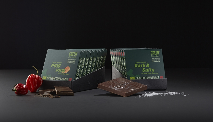 green machine protein chocolate