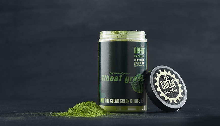 green machine wheat grass