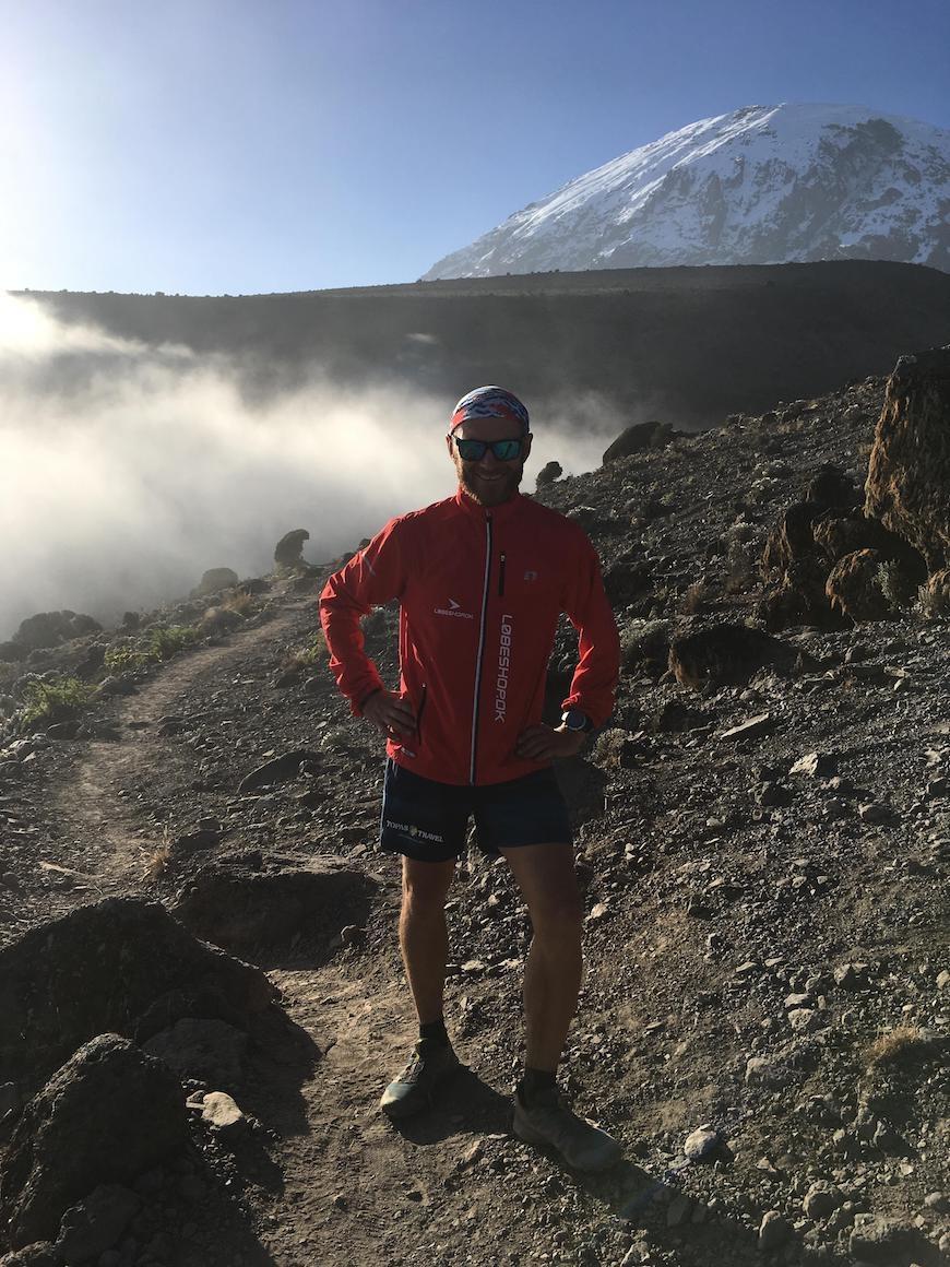 kilimanjaro løb simon grimstrup