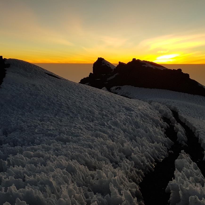 kilimanjaro løb solopgang