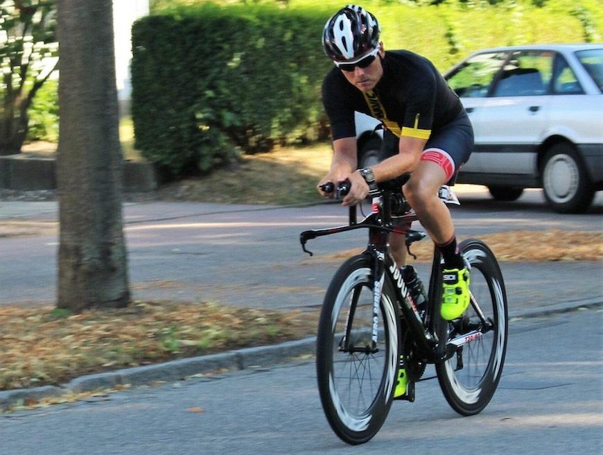 tredobbelt ironman cykling