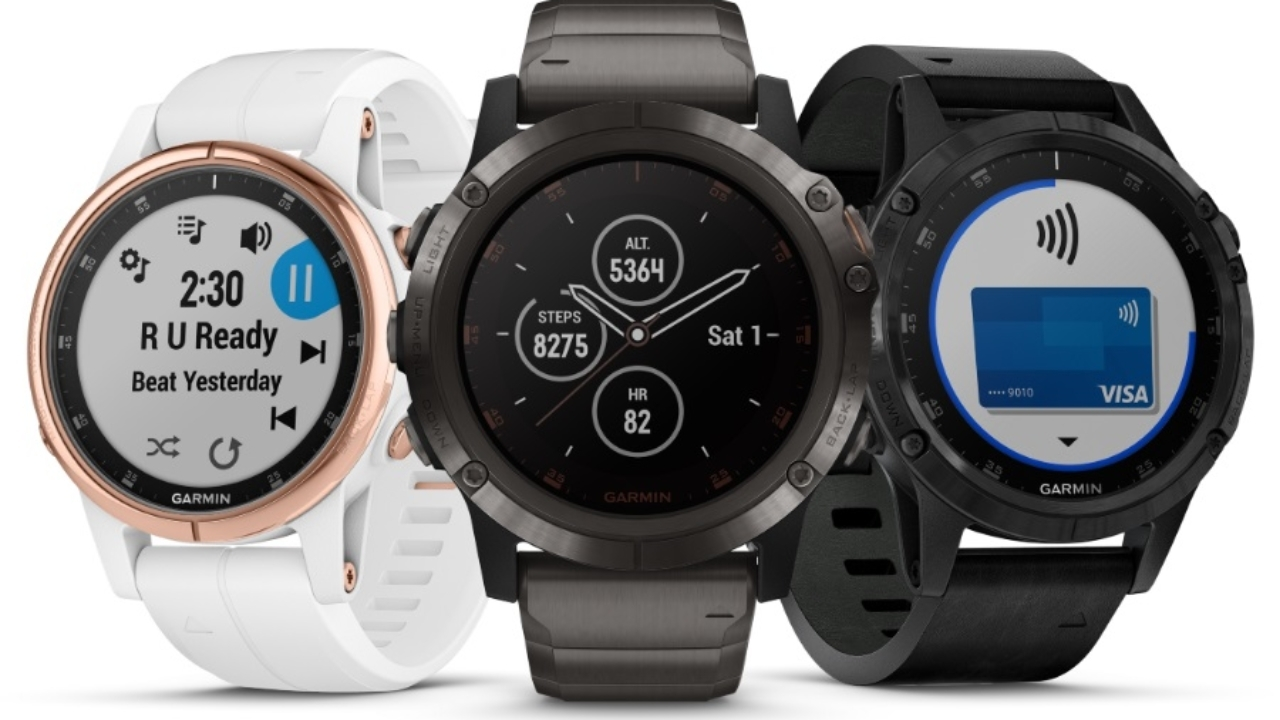 Garmin Fenix 5 PLUS serien