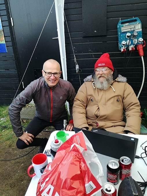 """Backyard ultra Jesper Elfving og Gary """"Lazarus Lake"""" Cantrell"""
