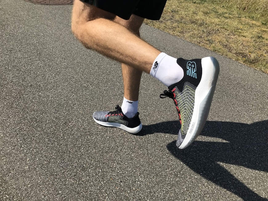 New Balance FuelCell Rebel test