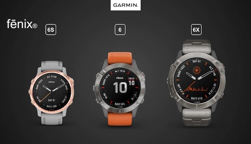 Garmin Fenix 6 serien