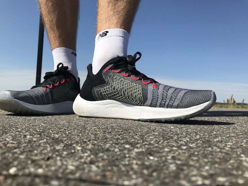New Balance FuelCell Rebel inderside