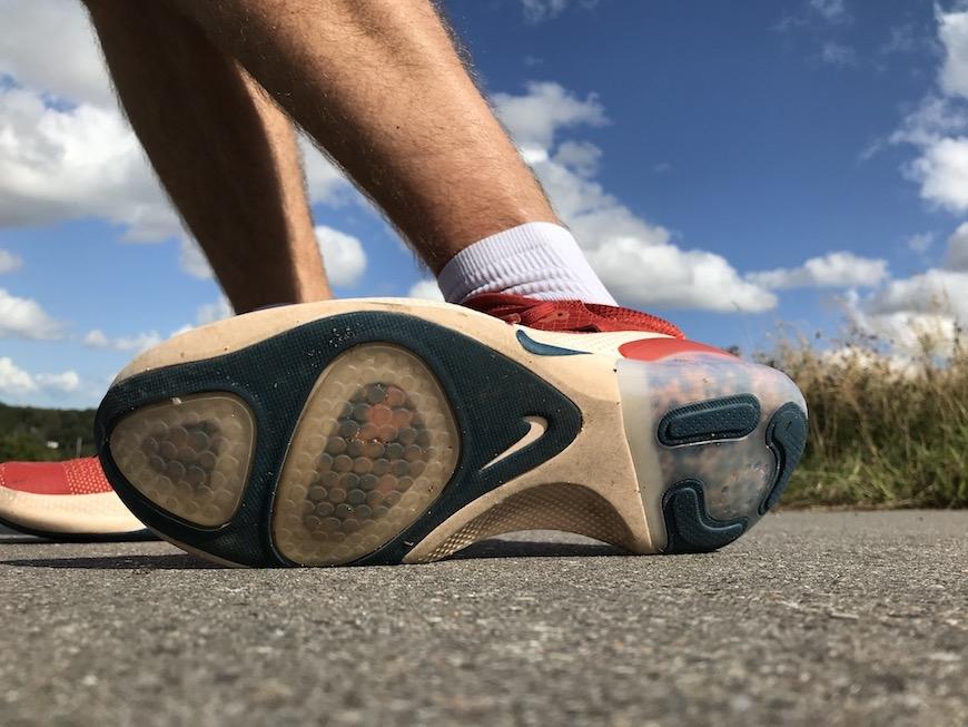 Nike joyride run flyknit ydersål