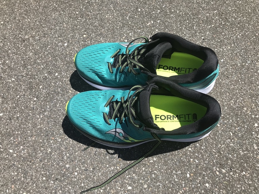 saucony ride iso 2 - formfit