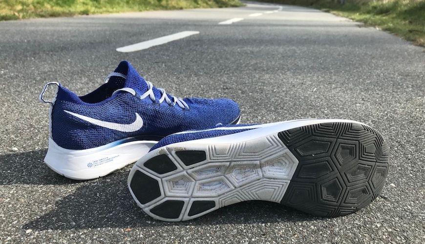 Nike zoom fly flyknit ydersål