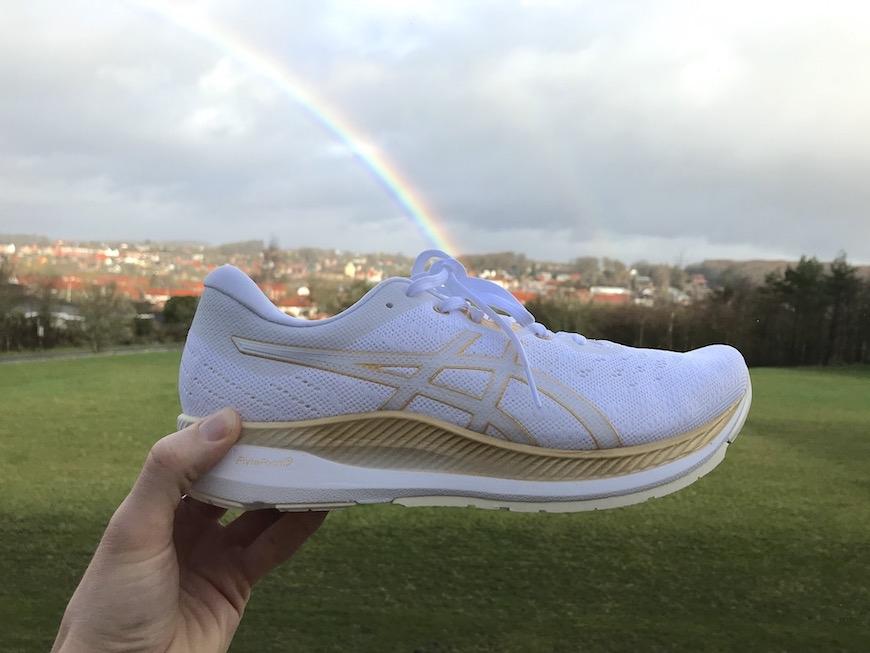 asics evoride rainbow