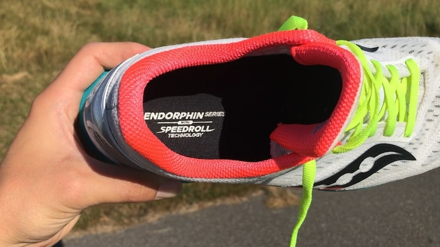 saucony endorphin speed speedroll technology
