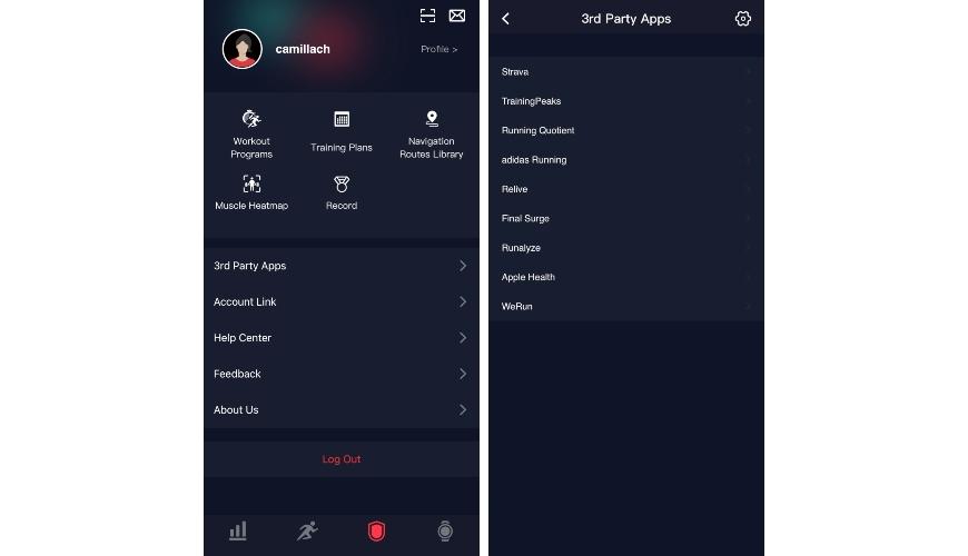 COROS Pace 2 app