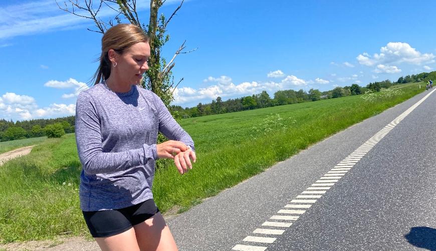 Løb i sommervarmen