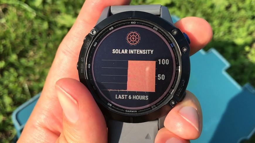 garmin solar test4