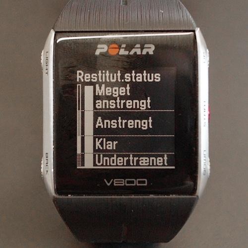 Summary Polar V800