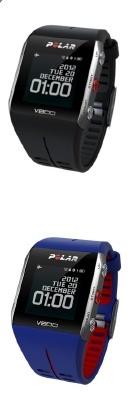 Polar V800 sort og blå