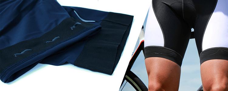 Silikonekant i cykelbukser