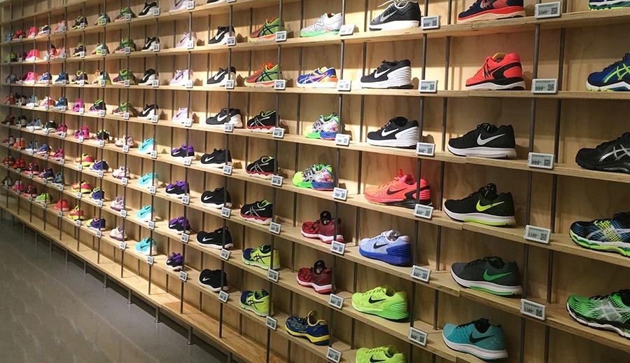 Stort udvalg af løbesko